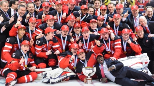 team-canada-celebrates